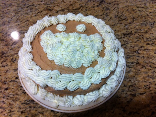 21 bday cake